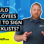 Why Restaurant Checklist Should NOT Have Signatures