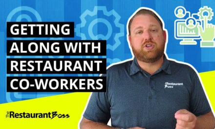 Getting Along with Restaurant Co-Workers